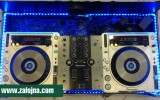 Table Top плеъри с канален миксер Pioneer CDJ-800 MK II, Pioneer DJM-250MK2