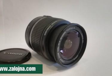 Обектив Canon EF-S 18-55mm