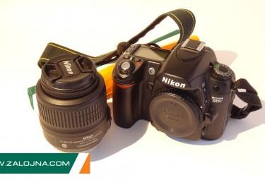 Фотоапарат Nikon D80 + обектив Nikon DX 18-55